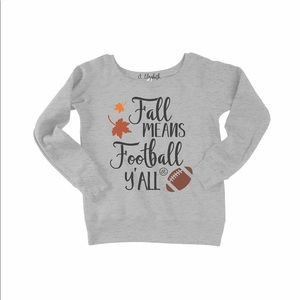 Fall Means Football Slouchy